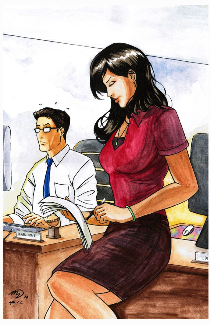 The Women Of Dc Comics Ink In Adam Withers S Dc Comics: 44 Best Images About DC : Lois Lane On Pinterest