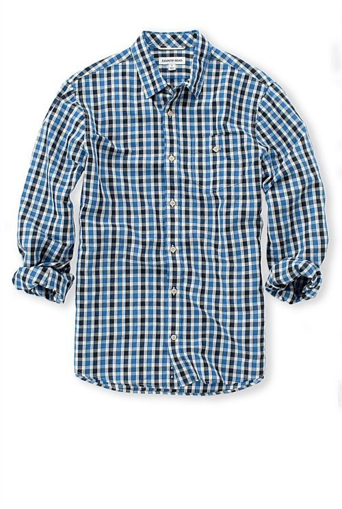3 Colour Check Shirt - Country Road