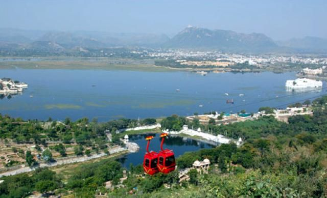 8 Must-See Attractions in Romantic Udaipur, India: Udaipur Ropeway