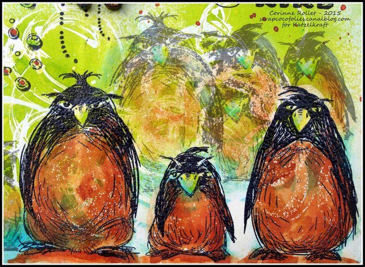 Les folies de Coco... KTZ145 - Grumpy Pinguins
