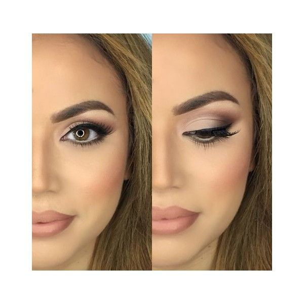 21 Sexy Smokey Eye Makeup Ideas to Help You Catch His Attention ❤ liked on Polyvore featuring beauty products