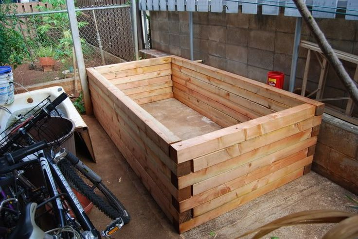 Building Raised Garden Plywood