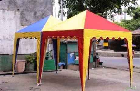 Kami GOODNEWS EXHIBITION menjual berbagai macam tenda dengan harga yang murah seperti: tenda sarnavile,tenda gazebo dan tenda kerucut. Bila anda berminat dapat menghubungi kami di : Office : Jln. Boulevard Raya Ruko Star Of Asia No.99 Taman Ubud Lippo Karawaci Tangerang Telp   : 021-70463227 atau 085100463227 Web    : http://sewatendagn.blogspot.com/