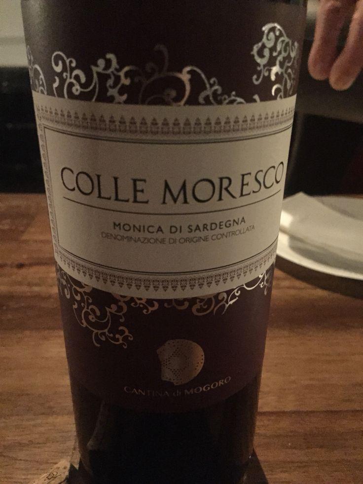 Delicious Sardinian wine slightly sweet