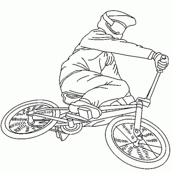 Gambar Mewarnai Sepeda Bmx Di 2021 Halaman Mewarnai Gambar Warna