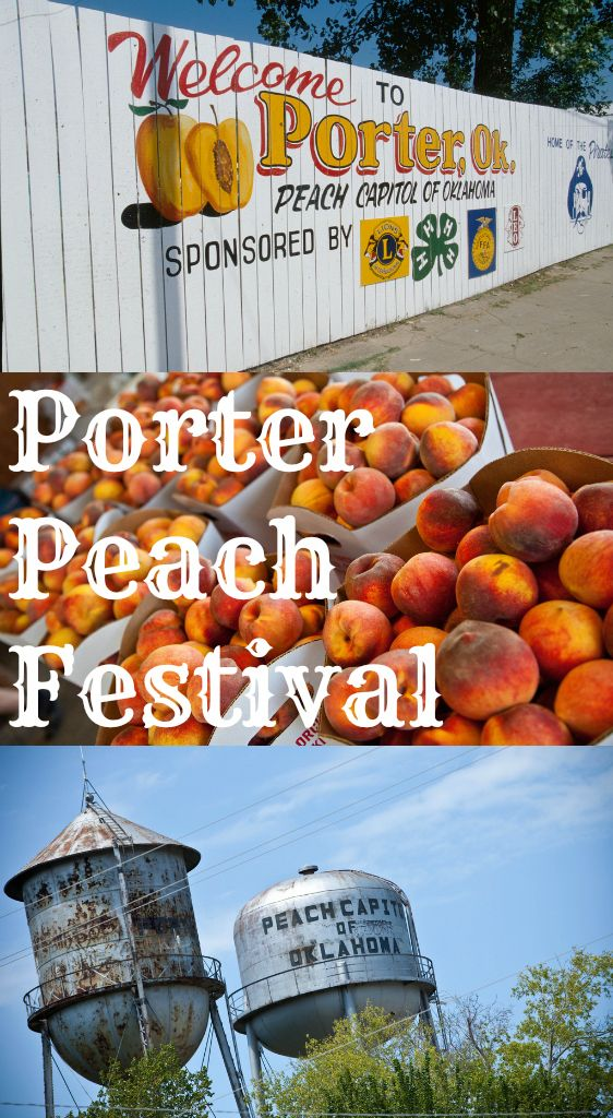 The Porter Peach Festival is one of the tastiest food festivals in Oklahoma. Each year, local orchards show off their crops while games, arts and crafts, live music, carnival rides and more take over the town.