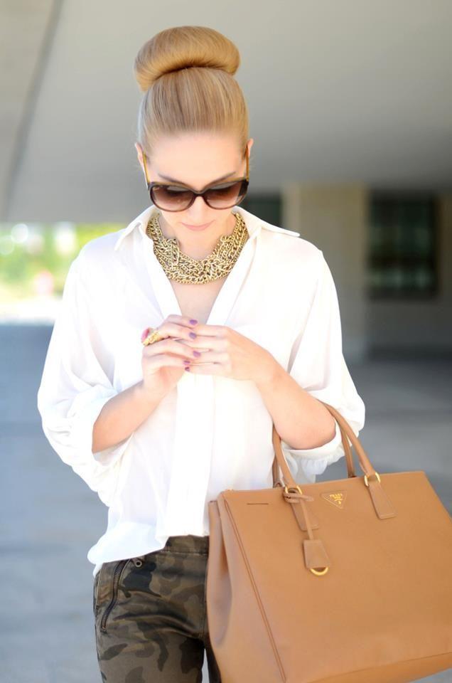 Provocative Woman: Classy White Shirt
