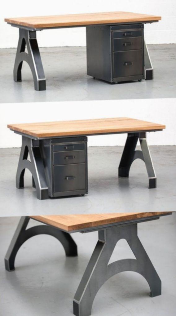 Office Design Industrial Rustic Homeoffice Inspohome Interiors Industrial Office Design Industrial Design Furniture Industrial Furniture Uk