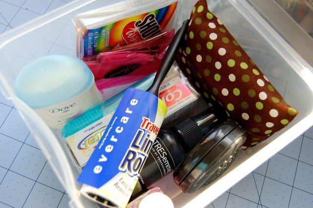 Crafty Teacher Lady: Simple Gift Idea: Desk Emergency Kit