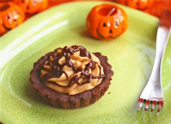 Pumpkin Mousse Tarts [Vegan, Gluten-Free] - One Green PlanetOne Green Planet