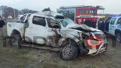 Falleció un hombre que se había accidentado en Winifreda