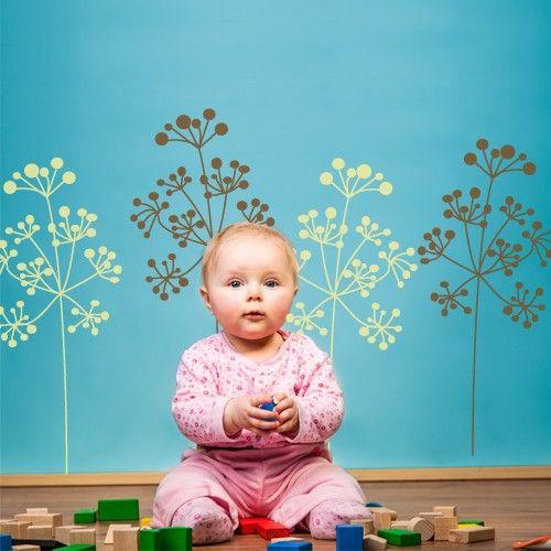 Baby Boo Decor - Bobble Head Weeds, $49.50 (http://www.babyboodecor.com/bobble-head-weeds/) #babydecor #parenting #kidsroom