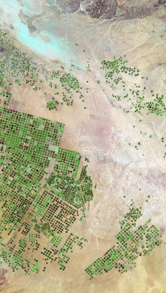 Niesamowite zdjęcia satelitarne.