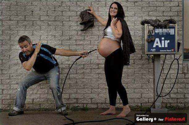 Creative pregnancy pics from Patrice Laroche with Sandra Denis