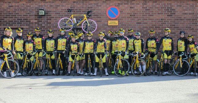 50% of members of Team Rynkeby Helsinki Finland.