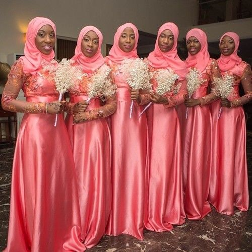 Muslim Bridesmaids