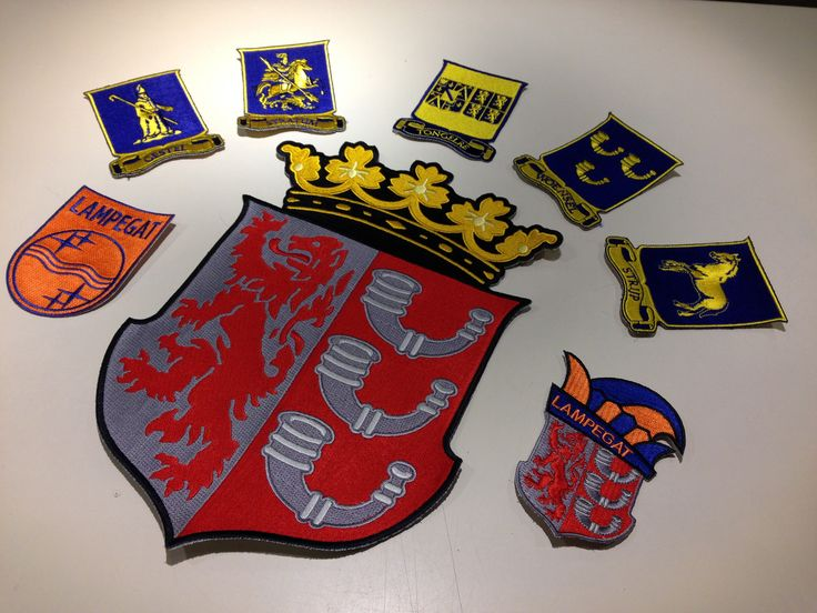Lampegats Emblemen &  Badges