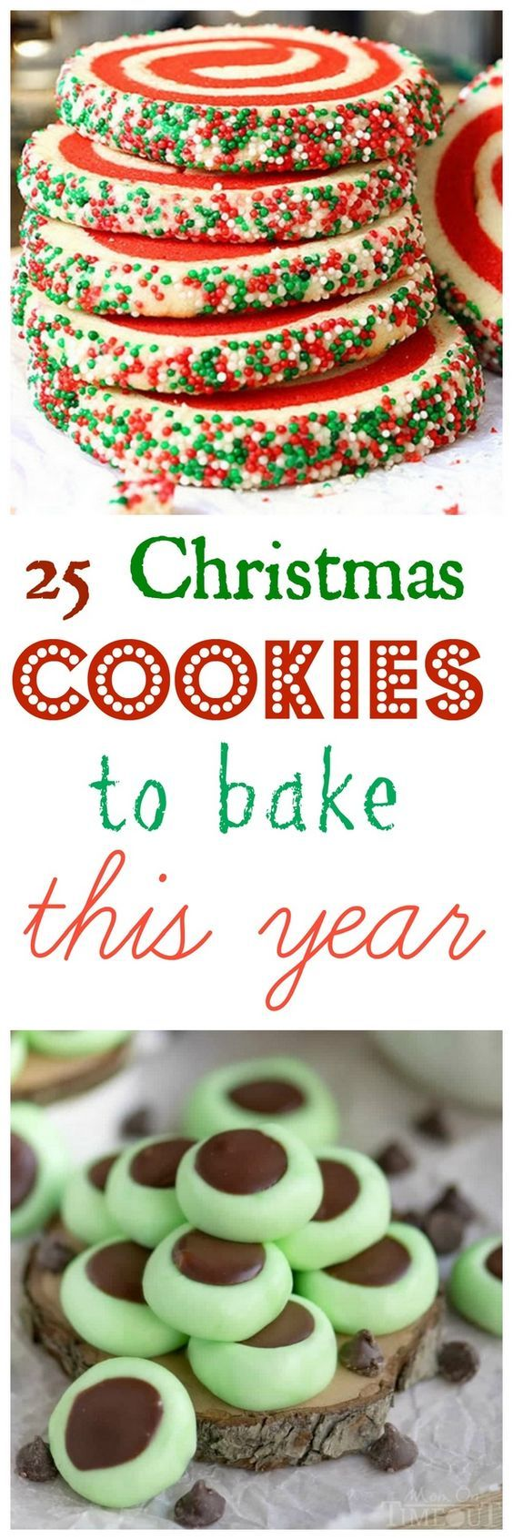 25 Christmas Cookies to Bake This Year, you won't be disappointed with this list!