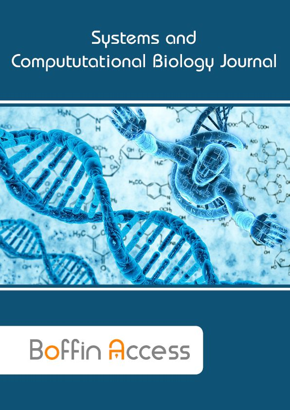 Boffin Access Limite-Systems and Computational Biology Journal: Systems and Computational Biology Journal is an open access peer-reviewed journal that offers most recent developments in systems biology and computational biology. Systems and Computational Biology Journal bridge between the basic biology and applied biology which provides new insights into understanding the complex biological systems to develop new drugs, targets, and methods for various diseases.