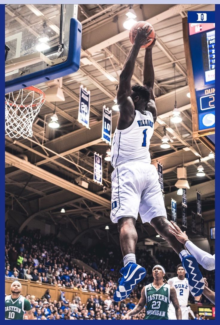 Zion Williamson Duke basketball, College hoops, Nba