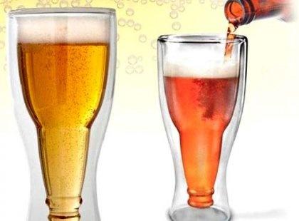Farklı Tarz ve Tasarımları Sevenler için, Glass Cup Ters Şişe Bardak, İçmeden sarhoş olmak bu olsa gerek..