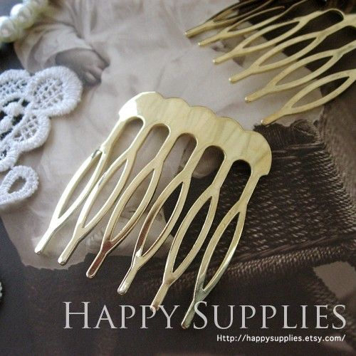 4pcs Nickel Free  High Quality Real Gold Plated by happysupplies, $3.60