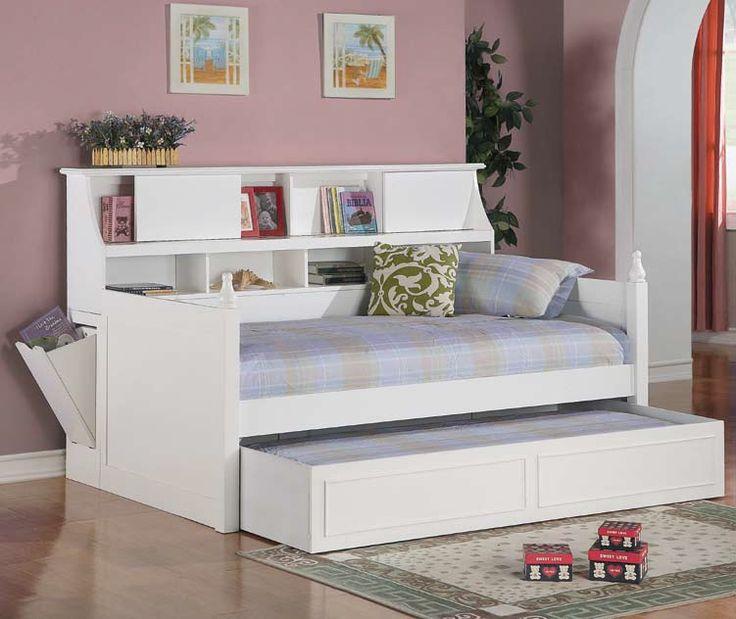 daisy traditional white twin daybed w trundle ausziehbetttagesbett gnseblmchenzimmereinrichtungmodernes tagesbett - Modernes Tagesbett Mit Ausziehbett