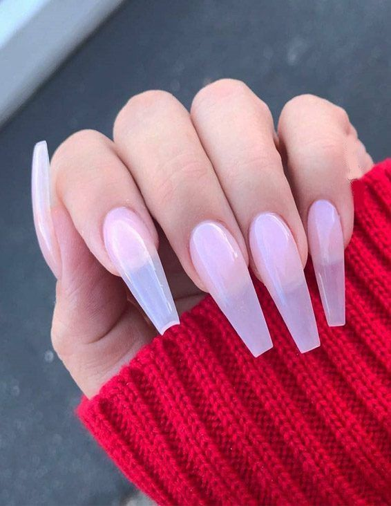 Best Styles Of Long Nails Art For Teenage Girls Ballerina Nails Designs Ballerina Nails Long Nails