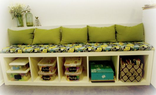 Ikea Expedit Bookshelf Transformed Into Custom Kitchen