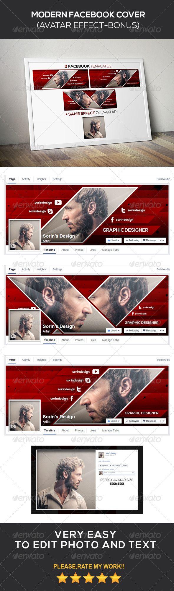 Modern Facebook Cover - Facebook Timeline Covers Social Media