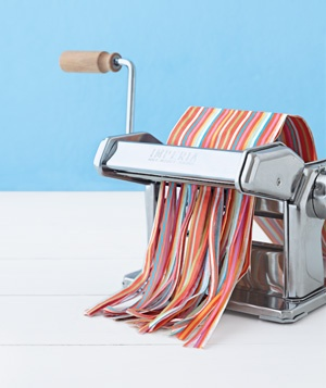 If you're not using your pasta maker these days, turn it into a paper shredder. And if you have chickens, shred your paper/junk mail and use it as bedding in the chicken coop.