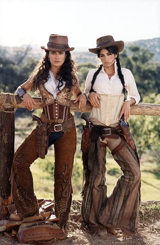 Bandidas (2006) with Salma Hayek and Penelope Cruz.
