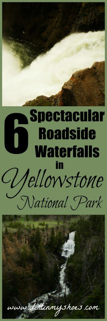 Enjoy these 6 roadside waterfalls in Yellowstone National Park -- no hiking required!
