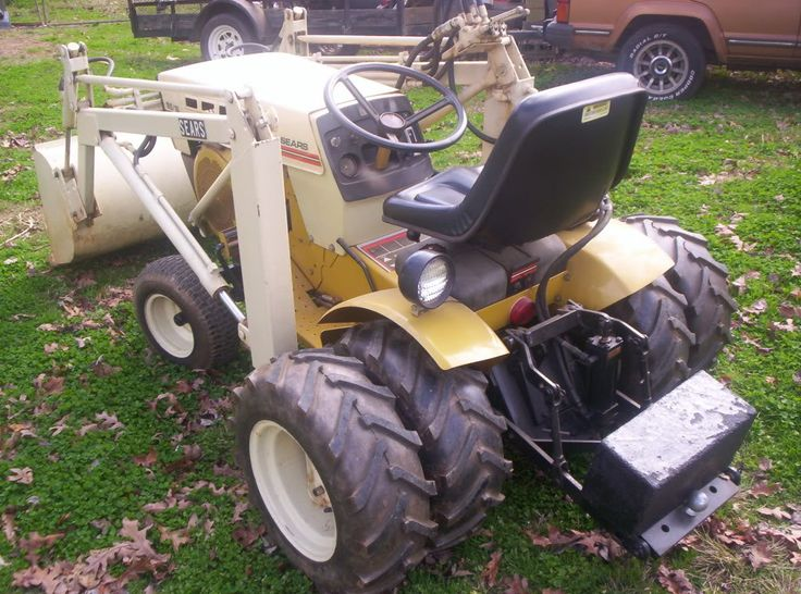 The 25 Best Tractor Loader Ideas On Pinterest Small Garden Tractor Garden Tractor