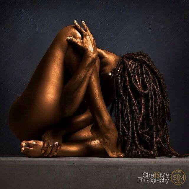 art women of nude photos black