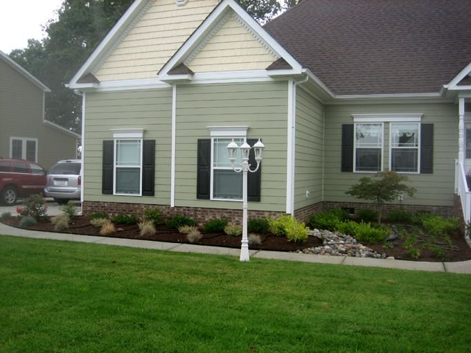 17 best images about landscaping on pinterest brick for Residential landscaping ideas