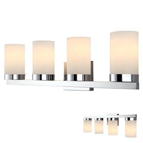 Chrome 4 Globe Vanity Bath Light Bar Fixture Lighting, White Opal Glass HowPlumb http://www.amazon.com/dp/B00RZXT2GS/ref=cm_sw_r_pi_dp_EAqdxb1N3NGM9