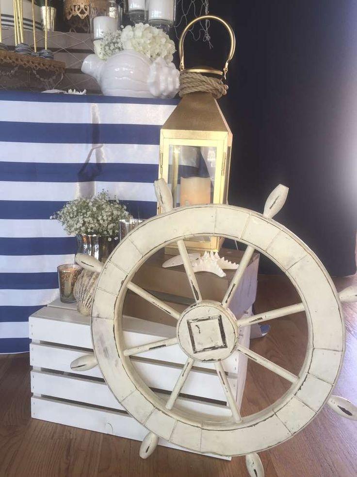 Best 25 yacht party ideas on pinterest - Decoracion estilo marinero ...