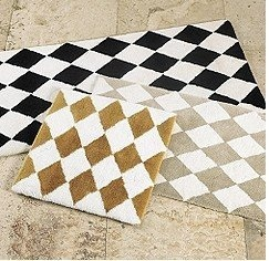 Best Fun Fabric Rugs Images On Pinterest Fabric Rug Area - Gold bath rugs for bathroom decorating ideas