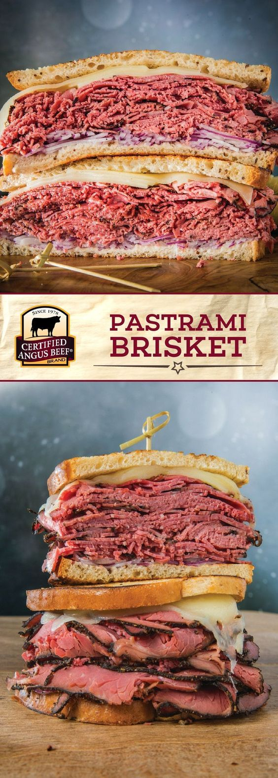 Make your own pastrami from scratch right at home with Certified Angus Beef®️ brand brisket flat! Once you try this made-from-scratch pastrami brisket, you won't ever want to go back to store-bought. Smoked on low for 7 hours, this deliciously prepared pastrami is PERFECT for your favorite sandwiches. #bestangusbeef #certifiedangusbeef #beefrecipe #pastrami #brisket
