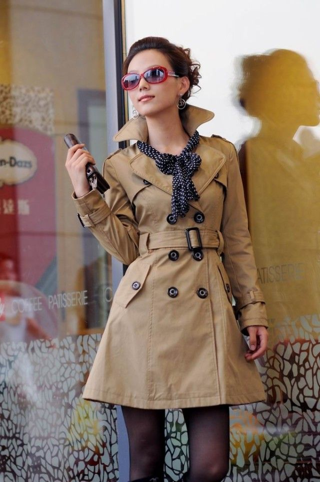 25 best ideas about damen trenchcoat on pinterest. Black Bedroom Furniture Sets. Home Design Ideas