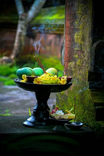 An offering to the gods, Bali, Indonesia #rituals