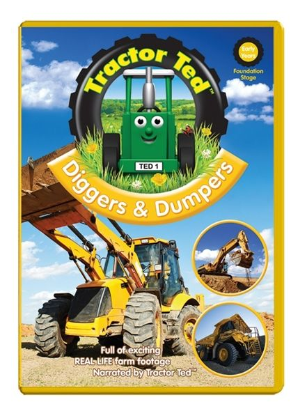 Oct 6, 2014: Diggers and Dumpers   Buy at: http://www.tractorted.co.uk/diggers-and-dumpers-dvd  Watch clip: http://www.tractorted.co.uk/Page/VideoClip?Clip=2491533