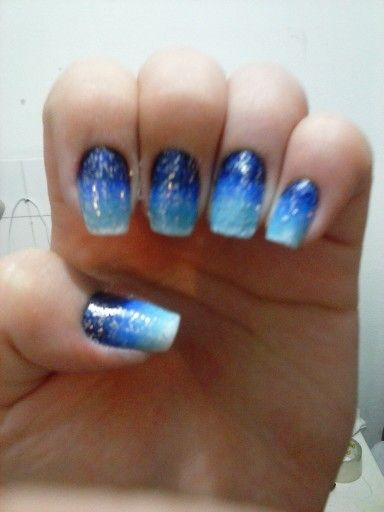Azul esponjado