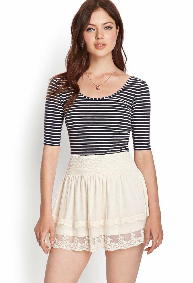 Atractivas faldas cortas de temporada   Moda 2014   faldas ...