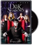 Dark Shadows:   From the wonderfully warped imagination of Tim Burton comes the story of Barnabas Collins (Johnny Depp), a dashing aristocrat who is turned into a vampire by a jilted lover and entombed for two centuries. Emerging from his coffin into the world of 1972, he returns to his once-majestic home, only to the few dysfunctional descendants of the Collins family who remain.