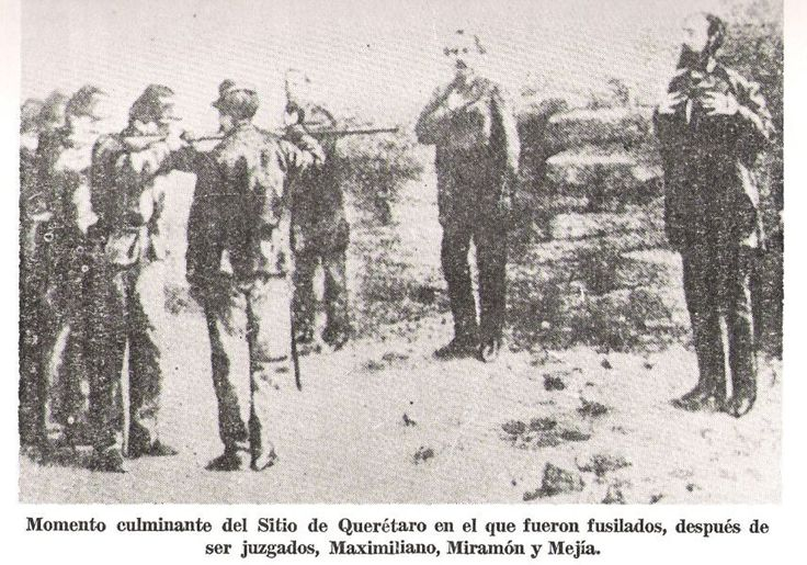 Ejecucion de Maximiliano, Miramon y Mejia