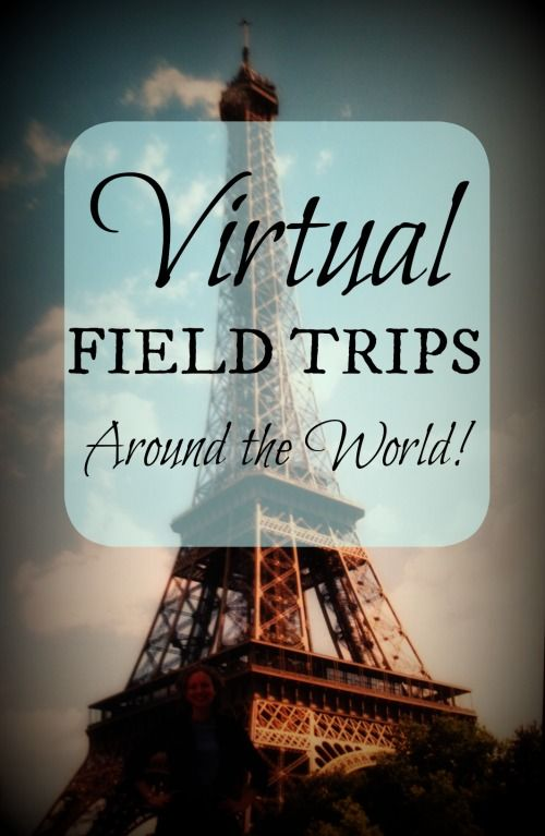 Using the Web to Take Virtual Field Trips Around the World! Love the live webcams....