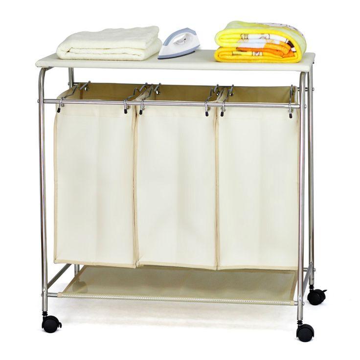 Atacado dificulta lavandaria compras e classificador, Rodas lavandaria compras com tábua de passar roupa OR401-Cestas e bolsas de lavar roupa-ID do produto:60006970091-portuguese.alibaba.com