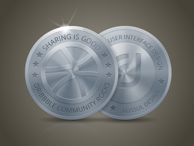 Dribbble Coin